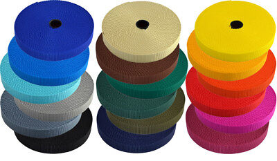 10m 20mm PP-Gurtband 1,75mm 21 Farben - made in Germany  (0,50 EUR/m)