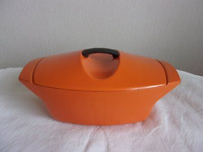 Cocotte Fonte Emaillee Orange Le Creuset Raymond Loewy  3,5L