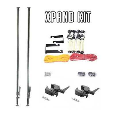 Xpand Floor to Ceiling pole background system set for Studio