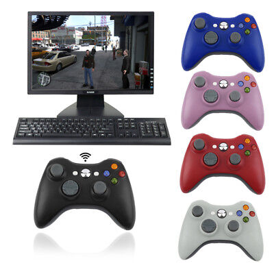 2.4G Wireless GamePad Joypad Controller+Receiver Fr Microsoft Xbox360 windows ZM