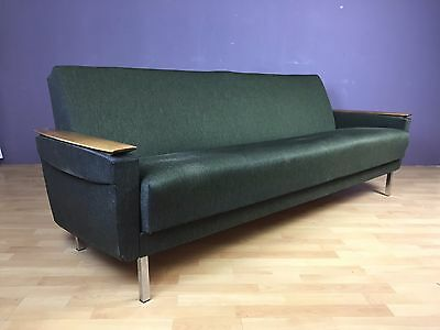 ob17 0095 mid century sofa daybed couch sixtys 60s schlafsofa eur 280 00 picclick de. Black Bedroom Furniture Sets. Home Design Ideas