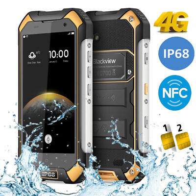"""Blackview BV6000 4.7"""" Android 6.0 3Go+32Go 13MP imperméable Smartphone Octa Core"""