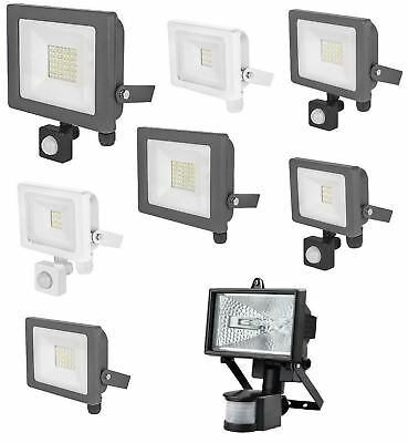 Garden Led Floodlight Outdoor Security Lamp 10w 20w 30w Light Different Size New