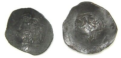 Two Unresearched Bronze Byzantine Coins, Xii Century.    1V407