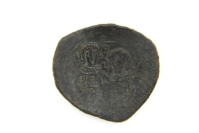 Byzantine Bronze Coin. Not Researched.   1V153