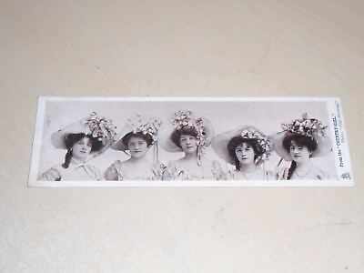 Early 1904 Bookmark Glamour Postcard - Country Girl - Vgc