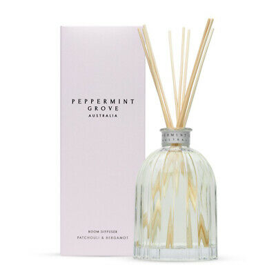 NEW Peppermint Grove Patchouli & Bergamot Diffuser 350ml