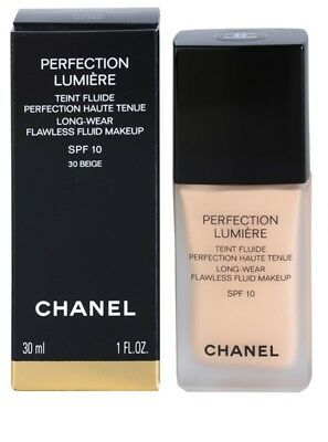 CHANEL Perfection Lumiere Foundation Many Shades SPF 10 Authentic 30ml