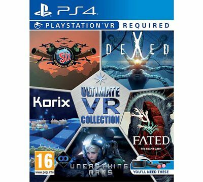 Ultimate VR Collection PS4 VR Game Stationary Turrets On Beach Heads Fated_NEW