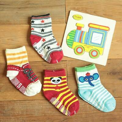 14 Pairs Anti-slip Toddler Socks Assorted Baby Kids Sock For 1-3 Years bs02