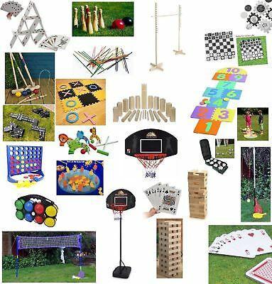 New Outdoor Fun Games Summer Kids Family Garden Sports Jenga Limbo Etc Games