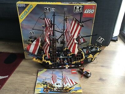 Lego 6285 Black Seas Barracuda Complete Boxed With Instructions
