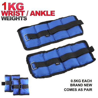 Heavy Duty Ankle Wrist Weights Exercise Strength Training Fitness Running UK New