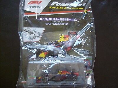 Formula 1 The Car Collection Part 54 Red Bull RB12 2016 Max Verstappen
