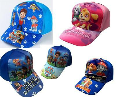 Paw Patrol puppy Kids Boy Gril Canvas Adjustable Sun Baseball Cap Hats paty gift