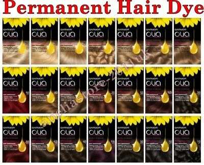 Garnier OLIA Permanent Hair Dye Colour Cream Different Shades Ammonia Free