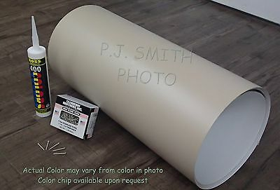 "Wicker #713 Aluminum Coil 24"" x 50' Package Trim Nails & Caulk included"