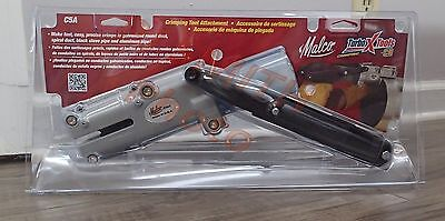 Malco C5A Crimping Tool Attachment use on Round Duct,Black Stove Pipe