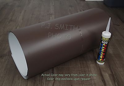 "Musket Brown #250 Aluminum Coil 24"" x 50' Package Trim Nails & Caulk included"