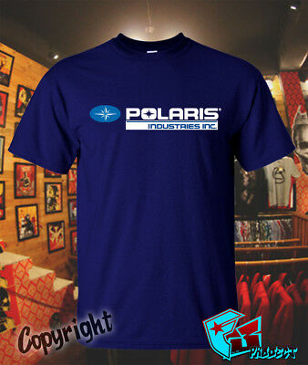 New official Logo of Polaris Industries Design TEE T-SHIRT Size S to 3XL