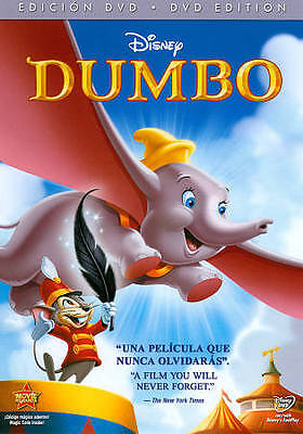 Dumbo (DVD, 2011, 70th Anniversary Edition, Spanish/English, Full Screen) *NEW*