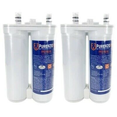 PureH2O PH21610 Water Filters Replacement for Frigidaire WF2CB, FC-100, 46-9911