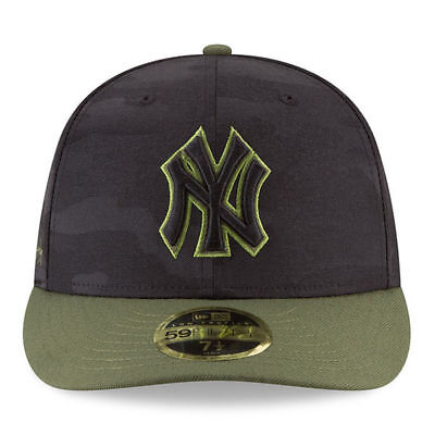 pretty nice 773fb ac56c New Era Men s New York Yankees 59Fifty 2018 Memorial Day Fitted Hat