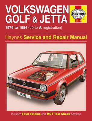 vw golf jetta mk1 petrol 1974 1984 new haynes workshop manual rh picclick co uk vw golf mk1 cabriolet & scirocco service manual golf mk1 service manual