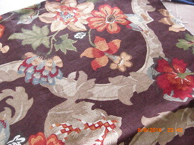 Lee Jofa  Kirby 2004 The Royal Oak Collection Upholstery Linen England X2 Large