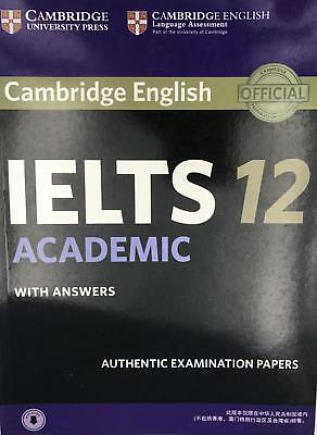 Cambridge IELTS 12 Academic Student's Book with Answers with Audio Authentic 11