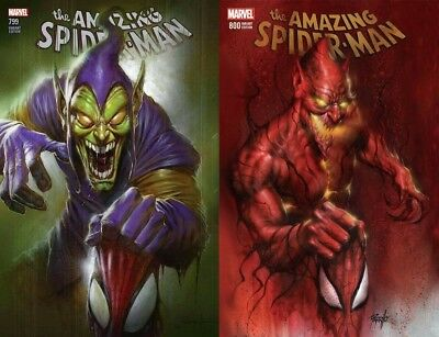 Amazing Spider-Man #799 AND #800 Lucio Parillo Trade Dress Variants PRESALE 5/29