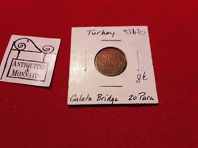 Turkey - Coin 20 Para Galata Bridge - Ref33470