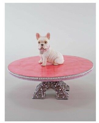 Katherine's Collection Fifi Goes To Paris French Bulldog Macaroon Cookie Stand