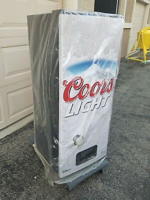 Brand new coors light silver bullet refresherator talking beer brand new coors light silver bullet refresherator talking beer fridge rare aloadofball Gallery