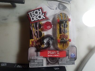 TECH DECK SERIES 7 Plan B Joslin Fingerboard 32Mm Trucks