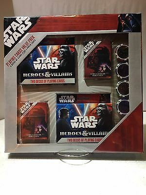 Star Wars Playing Cards Value Pack With Poker Chips Super Rare Mint