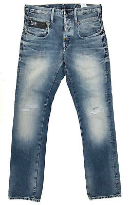 G-Star Jeans 'BLADE SLIM' LIGHT AGED DESTROY W29 L32 EUC RRP $289 Mens Boys