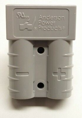 992 Anderson Original SB 50 Battery Connector Housing Gray