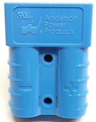 992G4 Anderson Original SB 50 Battery Connector Housing Blue