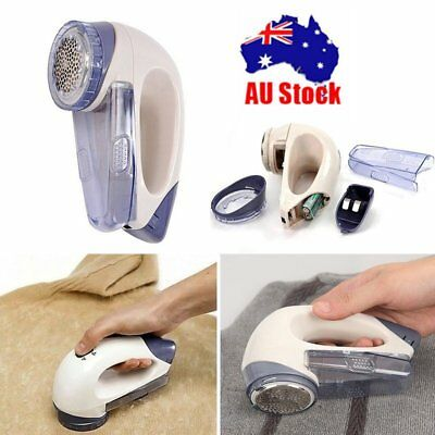 Portable Electric Clothes Lint Pill Fluff Remover Fabrics Sweater Fuzz Shaver LD