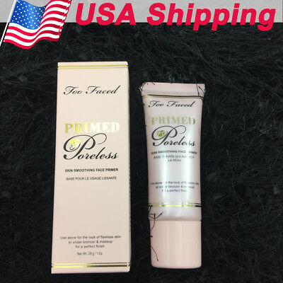 Too Faced Primed Poreless Skin Smoothing Face Primer 28g / 1 Oz. - FREE SHIPPING