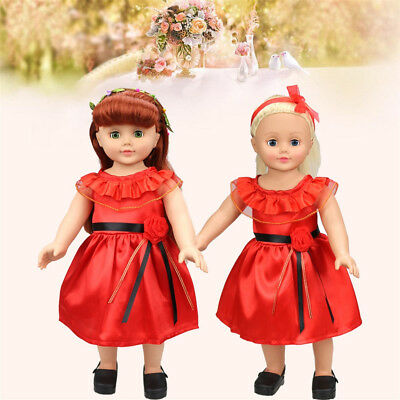 Kawai Princess Dress Up Costume For 18 inch Our Generation American Girl Doll