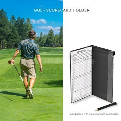 Golf Score Tracking Card Golf Stat Tracker Notebook Score Tracking Card L9E5