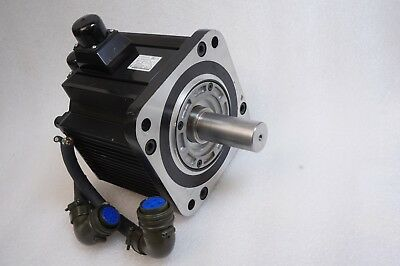 Yaskawa Ac Servo Motor Sgmgh-30Aca21,Utsih-B17Ck  Tested Working Free Ship