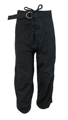 Alleson American Football Pants Trousers (Black) - Youth M (10-12 Years)