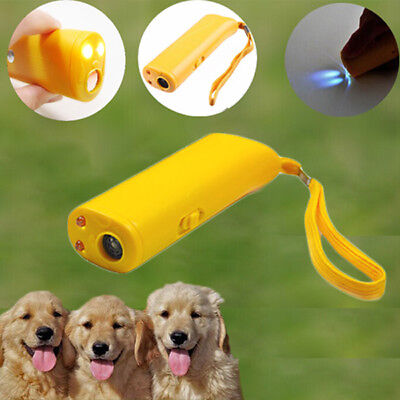 Ultrasonic Anti Stop Barking Pet Dog Train Repeller Control Trainer Tool Puppy