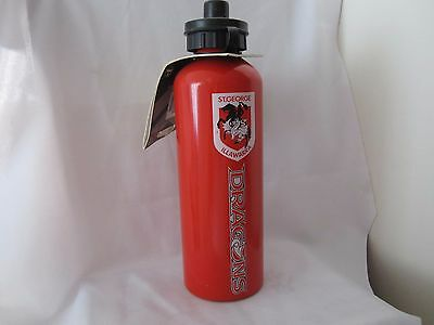 Rugby League NRL Dragons St George Illawarra Aluminium Drink Bottle Brand New