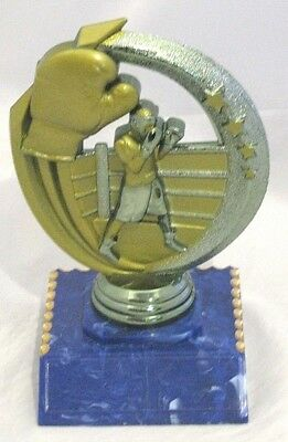 Boxing  Figurine Trophy 125mm Engraved FREE