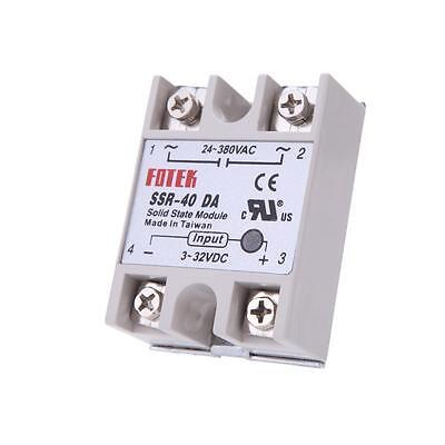 24V-380V SSR-40DA 40A Solid State Relay for PID Temperature Controller Durable Q