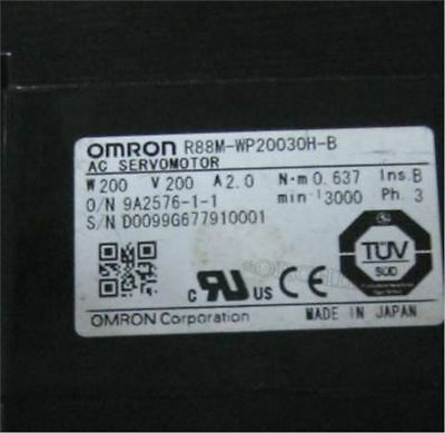 Used 1 Pcs Omron Servo Motor Motor R88M-WP20030H-B Tested hv